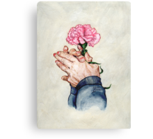 Hands of Time (Acrylic Painting) Canvas Print