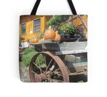 Farmstand Tractor Tote Bag