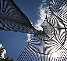 Metal Sculpture in Canberra/ACT/Australia by Wolf Sverak