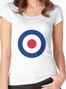 Royal Air Force - Roundel Women's Fitted Scoop T-Shirt