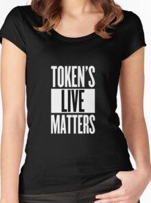 South Park - Token's Life Matters Women's Fitted Scoop T-Shirt