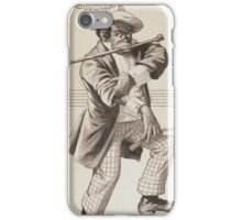 Performing Arts Posters Richards Pringles Famous Georgia Minstrels 0234 iPhone Case/Skin