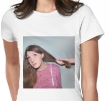 Influenced  Womens Fitted T-Shirt