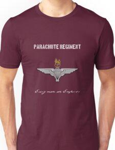 """Parachute Regiment (UK - no flag) """"Every Man An Emperor"""" Unisex T-Shirt"""