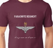 "Parachute Regiment (UK - no flag) ""Every Man An Emperor"" Unisex T-Shirt"