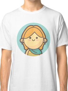Mini Characters - Blonde Girl Classic T-Shirt