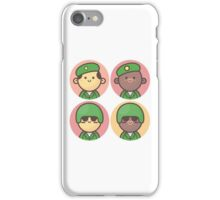 Mini Characters - Army Men iPhone Case/Skin