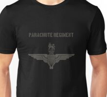 Parachute Regiment (UK) Black Unisex T-Shirt
