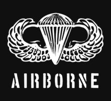 US airborne parawings - white One Piece - Long Sleeve