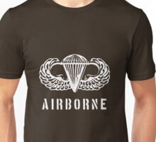 US airborne parawings - white Unisex T-Shirt
