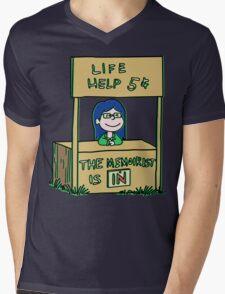 Life helper - vintage version Mens V-Neck T-Shirt