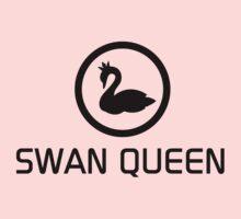 WE ARE THE SWAN QUEEN (black) Kids Tee