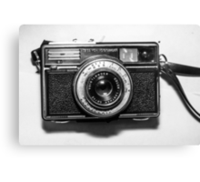 1970s German Vintage/Retro Camera by Karl Zeiss Canvas Print