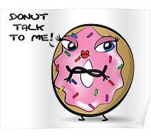 Miss Donut Poster