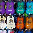 Colorful Guitars by John Butler
