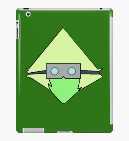 peridot welding goggles iPad Case/Skin