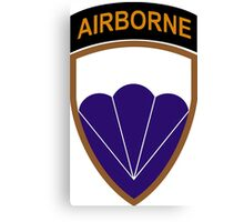 6th Airborne Division - US Army (Historical) Canvas Print