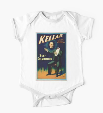 Performing Arts Posters Kellar in his latest mystery 2884 One Piece - Short Sleeve