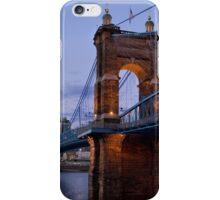 John A Roebling Bridge 1867 iPhone Case/Skin