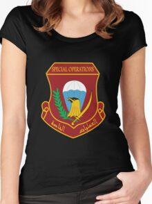 Iraqi Special Operations Forces (ISOF) - قوات العمليات الخاصة العراقية Women's Fitted Scoop T-Shirt