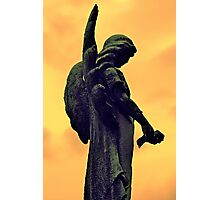 The Dark Side of Angels  Photographic Print