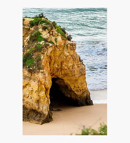 Cave to the Ocean Photographic Print