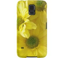 Yellow Chrysanthemums Samsung Galaxy Case/Skin