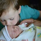 Big Brother Welcomes his Little Sister by Karen Checca