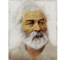 Walt Whitman Photographic Print