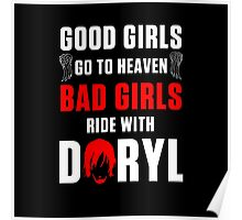 Ride with Daryl Dixon Poster