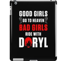 Ride with Daryl Dixon iPad Case/Skin