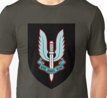 Special Air Service (Blue - Black Shield) Unisex T-Shirt