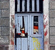 Casco Antiguo, Panama-- Old Door #2 by Dominique Wiese