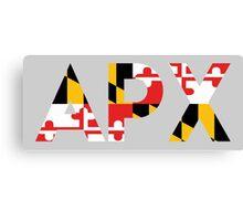 Alpha Rho Chi in Maryland Flag Canvas Print