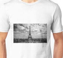 Paris, Eiffel Tower from Trocadero Unisex T-Shirt