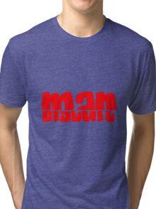 Half Man Half Biscuit RED Tri-blend T-Shirt