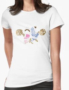 Ice Climbers Typography Womens Fitted T-Shirt