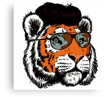 Tiger Vintage 70s Canvas Print