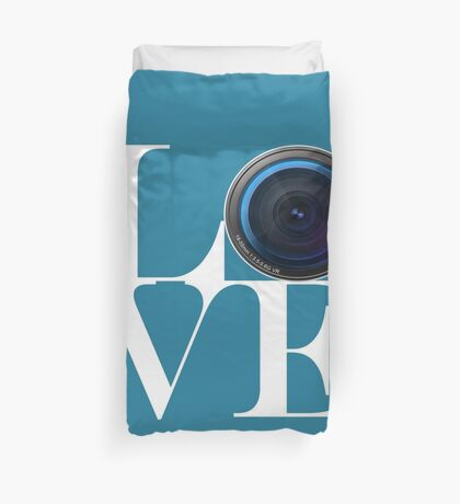Love Photography Duvet Cover