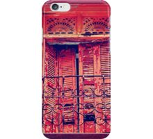 Casco Antiguo, Panama-- Old Door #3 iPhone Case/Skin