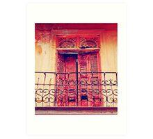 Casco Antiguo, Panama-- Old Door #3 Art Print