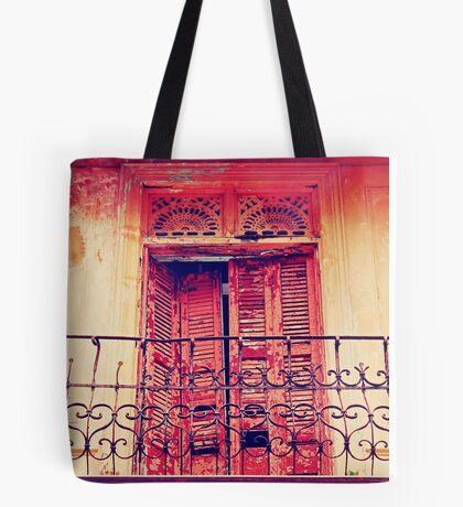 Casco Antiguo, Panama-- Old Door #3 Tote Bag