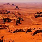The Long View - Monument Valley, Utah, USA by TonyCrehan