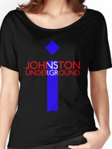 JOHNSTON UNDERGROUND Women's Relaxed Fit T-Shirt
