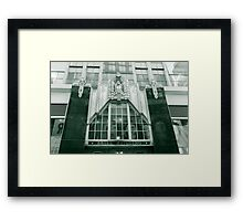 Reflections of Broadway Framed Print