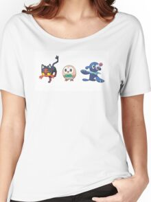 Starter Pokemon Moon/Sun Women's Relaxed Fit T-Shirt