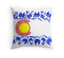flag of Colorado Throw Pillow