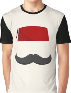 Man with a Fez Graphic T-Shirt