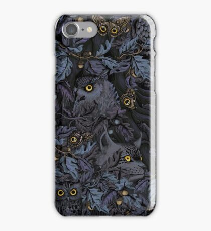 Fit In (moonlight blue) iPhone Case/Skin