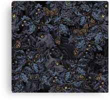 Fit In (moonlight blue) Canvas Print